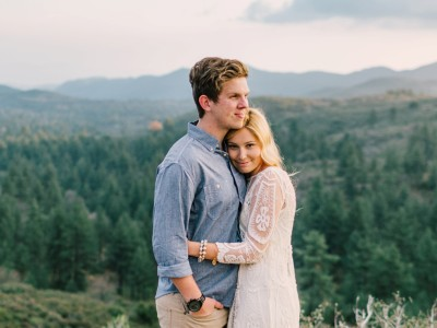 Josh + Brenna Mountain Anniversary
