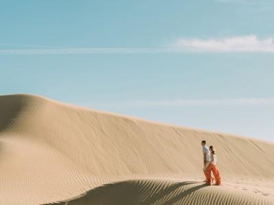 Cooper + Kristi Sand Dune Anniversary