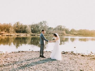 Jordan + Jenny's Sacramento River Portraits