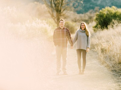Annalise + Beau Malibu Canyon Engagement