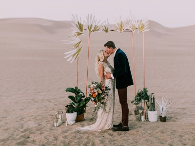 Desert Vibes Elopement Inspiration