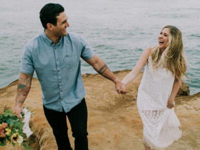 Brian + Taylor San Diego Engagement