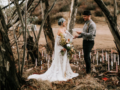Wolf Feather Honey Farm Vow Renewal