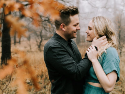 Dylan + Brooke Mountain Engagement
