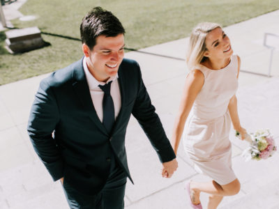 Cameron + Madi Courthouse Elopement